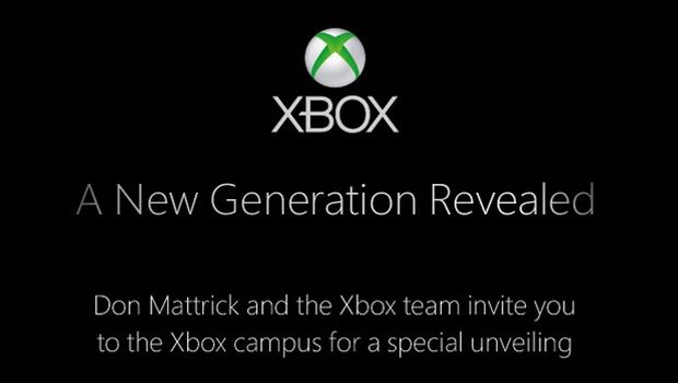 xbox 2013 invite Date of unveiling confirmed by Microsoft for next generation Xbox