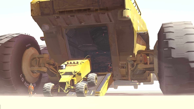 Hardware2 New HARDWARE: Shipbreakers Trailer Reveals the Armored Titan Baserunner
