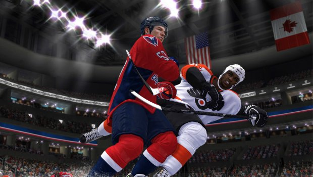 Hockey12 1 Improved physics, animations, showcased in latest NHL 14 Developer Diary