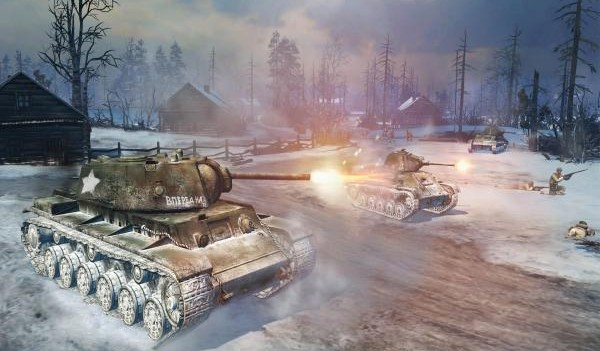 Company of Heroes 2 Russian Tanks