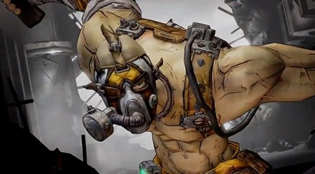 krieg the psycho borderlands 2 e1370035523894 Borderlands 2 short film enters the mind of Krieg the Psycho