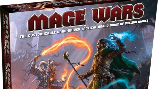 Mage Wars Box Art