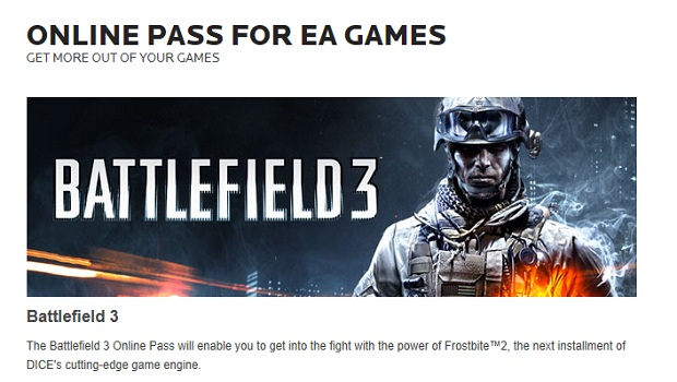 onlinepass EA does away with Online Pass system
