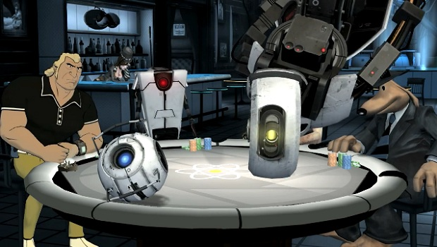 pokernight 2 What happens with GLaDOS, stays with GLaDOS   Poker Night 2 Review