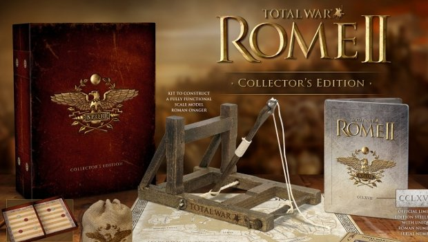 rometotalwar 1 Total War: Rome II coming this September   Collectors Edition contains fully functional catapult