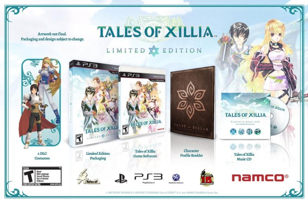 tales xillia e1369978311306 Tales of Xillia Limited Edition pre orders include soundtrack and more