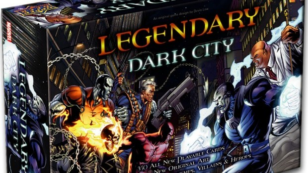 Legendary Dark City box