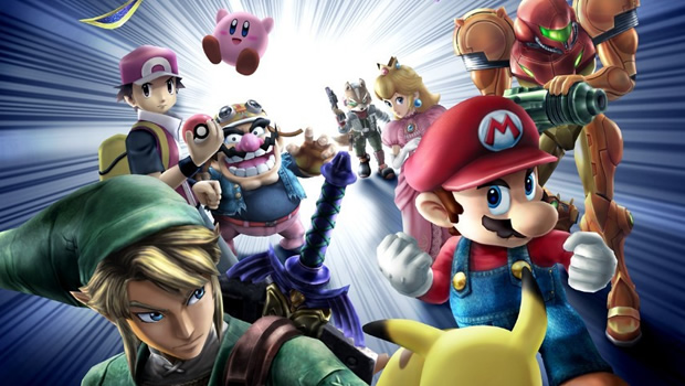 2. Super Smash Bros. Wii U