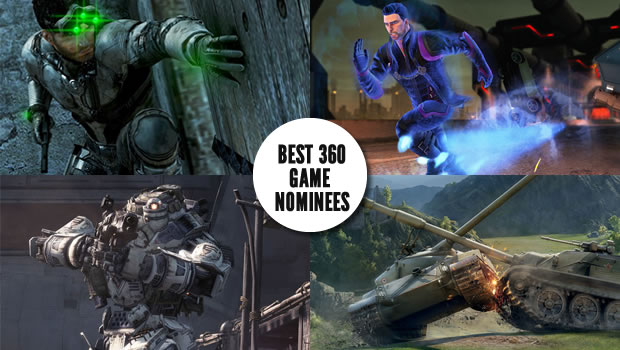 360 noms Gaming Trends Best of E3 2013  Games by Platform