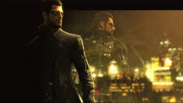 Deus ex banner Mysterious new content for Deus Ex: Human Revolution?