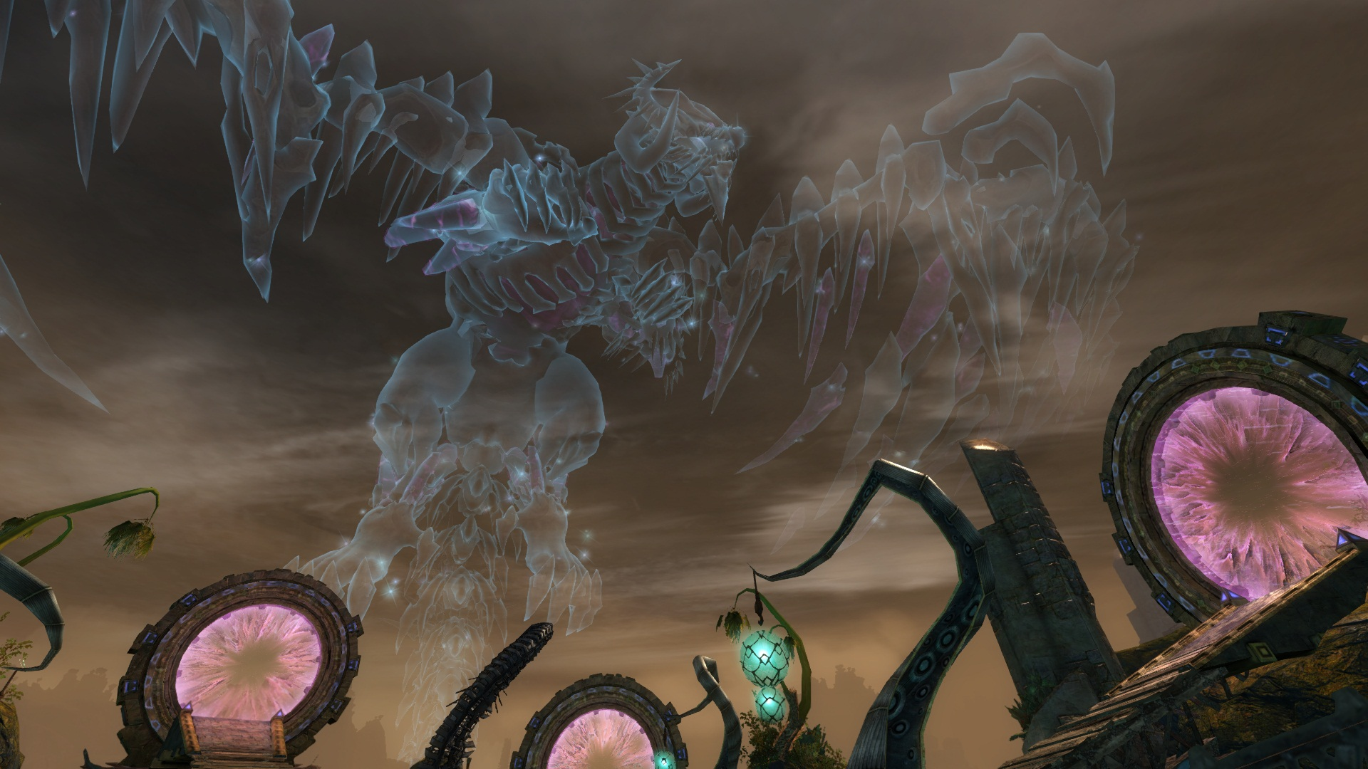 Guild-Wars-2-Holographic-Dragon