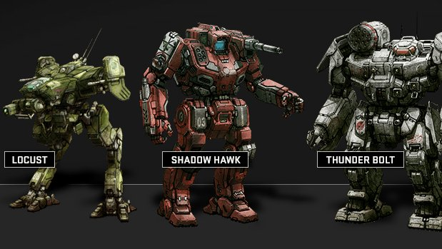 MWO 1 PGI bringing reseen Mechs to MechWarrior Online...with another founders program