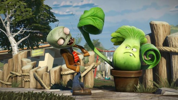 PVZGW 2 e1371834853780 Plants Vs. Zombies: Garden Warfare eats our brains at E3, and we dont really mind