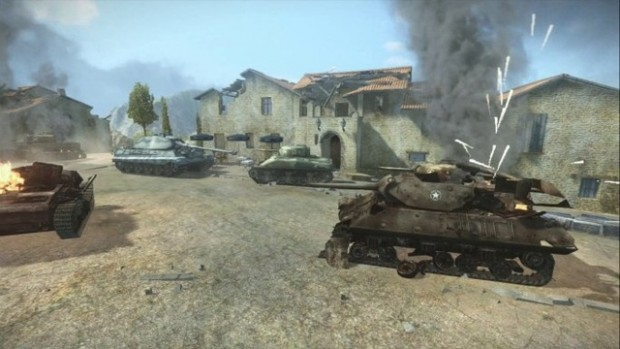 World of Tanks 360 e1370892714696 World of Tanks to tank rush the Xbox 360
