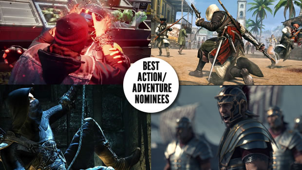 action noms Gaming Trends Best of E3 2013  Games by Genre