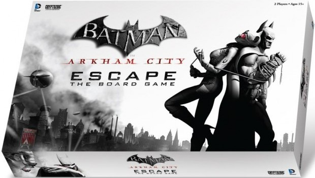 arkhamcityescape e1372216698570 Can you get out, or keep the bad guys in?  Batman: Arkham City Escape Board Game Review