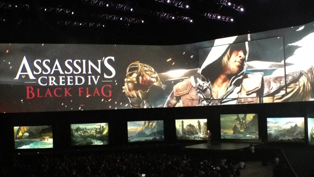 asscreed1 Assassins Creed IV: Black Flag gameplay demonstration puts the Jolly in Roger