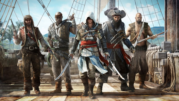 asscreed3 Assassins Creed IV: Black Flag gameplay demonstration puts the Jolly in Roger