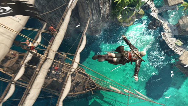 asscreed6 Assassins Creed IV: Black Flag gameplay demonstration puts the Jolly in Roger