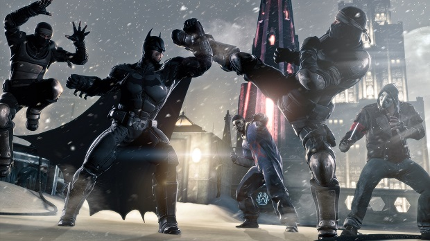 bats Batman: Arkham Origins hands on impressions