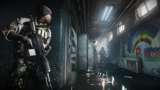 bf4a Microsofts Battlefield 4 footage from PC, not Xbox One