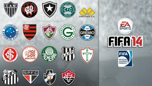 FIFA 14 1 FIFA 14 to include 19 officially licensed Brazilian Clubs
