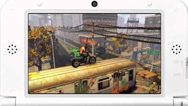 Gameplay 2 e1373939230165 Reduce, Reuse, Re Trial    Urban Trial Freestyle (3DS) review