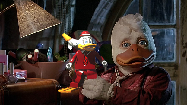 HOWARD THE DUCK Play as Howard the Duck in LEGO Marvel Superheroes