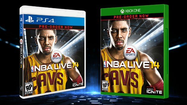 Kyric 1 Kyrie Irving selected as cover athlete for NBA Live 2014