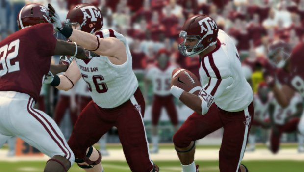 LeadinNCAA14 1 A goal line stand from greatness    NCAA Football 14 review