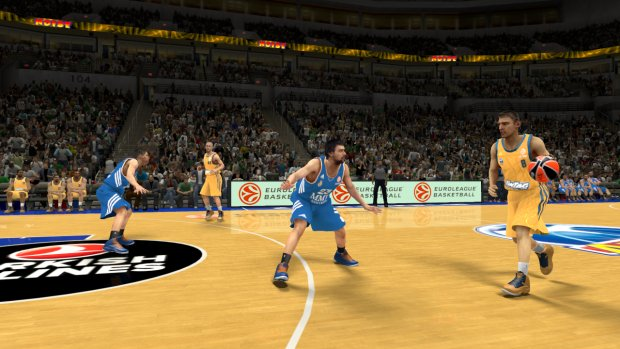 NBA2K14 Euroleague AlbaBerlin RealMadrid 1 Top Euroleague basketball teams coming to NBA 2K14