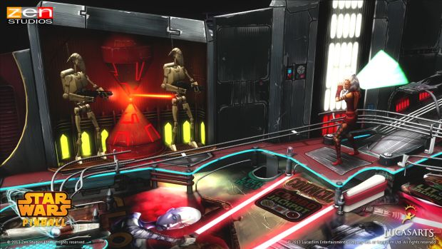 SWP Clone Wars table screenshot014 Ready your flippers    Star Wars Pinball review