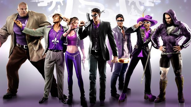 Saints Row 4 Wallpaper HD New Saints Row video simultaneously achieves happiness and horror