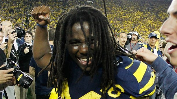 g spt 110910 denard robinson 1005p.nbcsports story 612 NCAA will not renew license deal with EA Sports...but it wont change anything.