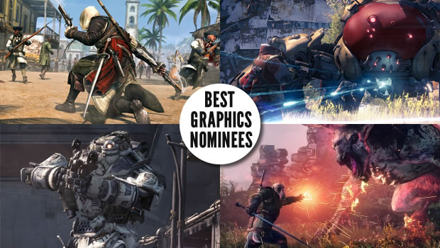 graphics noms Gaming Trends Best of E3 2013  Everything Else