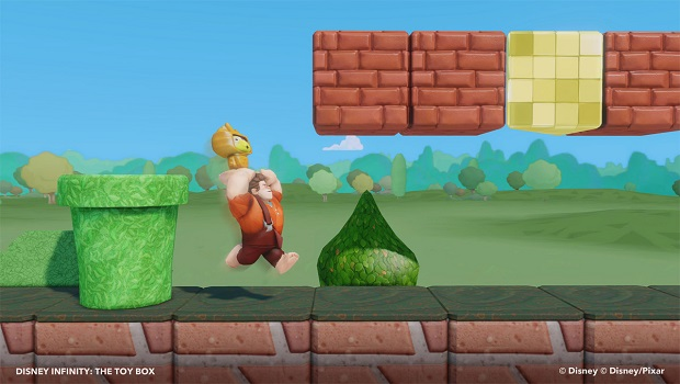 infinity You can make Super Mario inspired levels in Disney Infinity? Thats awesome.