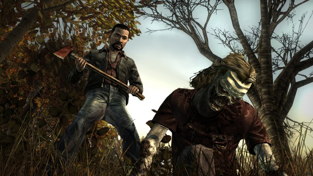 001 zombiekill screen e1377021023795 Take the Walking Dead along anytime on your Vita