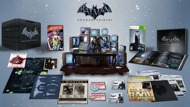 CE Layout 360 Batman: Arkham Origins collectors edition revealed!
