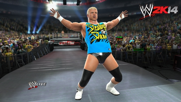 Dolph Entrance2 WWE 2K14 to feature 30 Years of Wrestlemania mode