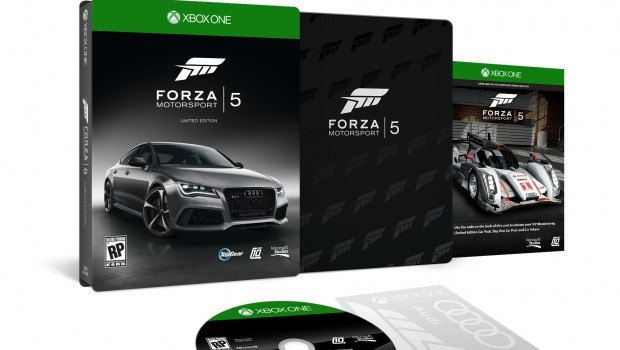 Exploded Xbox One FM5 LE RP RGB e1376584816816 Rev your Xbox Ones engines with the Forza Motorsport 5 Limited Edition