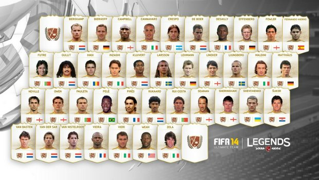 FIFALEGENDlead 1 EA Sports unveils legendary players, new online game mode in FIFA 14