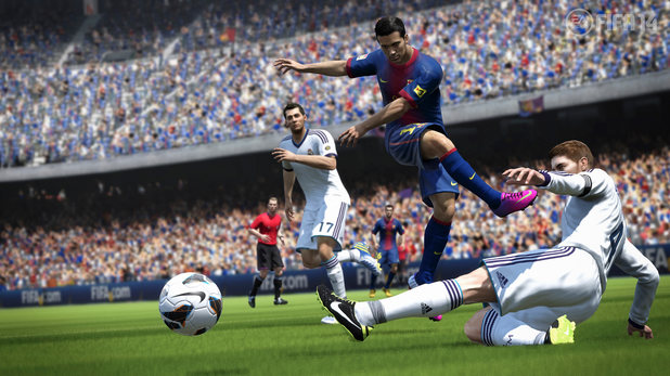 FIFAnewslead New FIFA 14 trailer introduces new shooting physics