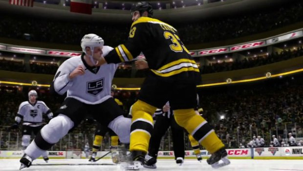 HOCKEYfightlead 1 Hockey fights expanded with NHL 14s Enforcer Engine