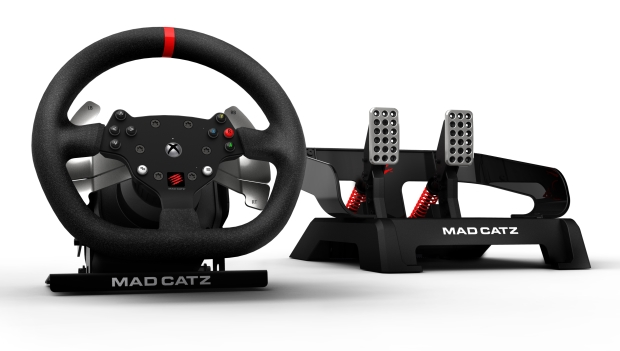 MadCatz Xbox One to get force feedback wheel from Mad Catz!