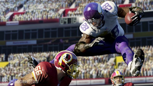 MaddenPRElead 1 Adrian Peterson first, Jets worst in Madden 25 season predictions