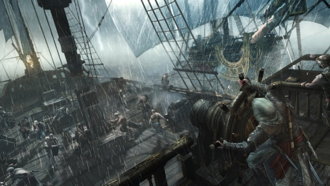 ac4 Assassin's Creed IV Black Flag Naval and Fort commented walkthrough