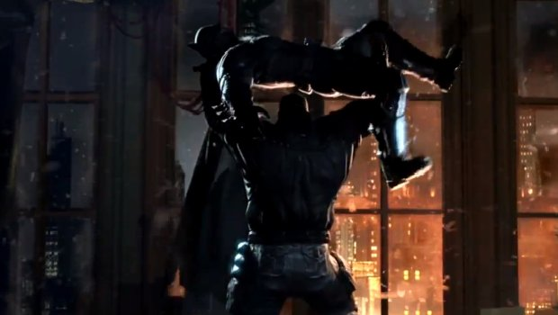 batmanlead1 1 Batman: Arkham Origins trailer leaves Bruce Wayne nowhere to run
