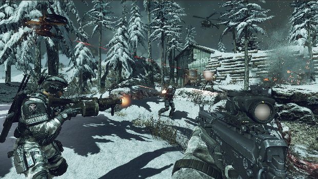 codlead 1 Call of Duty: Ghosts multiplayer reveal trailer shows upgrades, guns, explosions