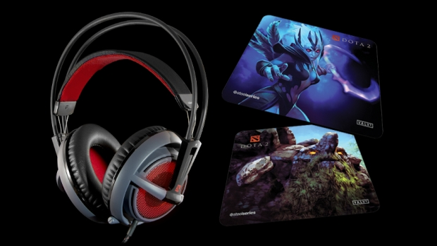 dota2 Dota 2 Edition Siberia V2 headset and mousepads announced