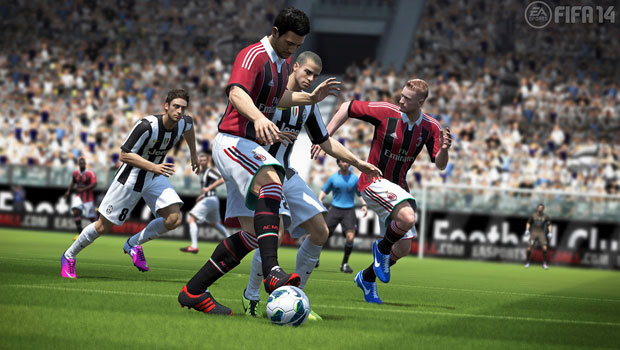 fifa14 gameplay Xbox One Pre orders will ship with free copy of FIFA 14 (in Europe)